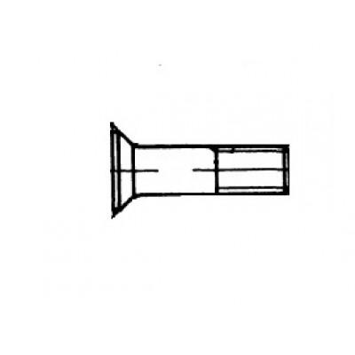 ОСТ 1 11936-74 Болты  с уменьшенной потайной головкой углом 90 градусов