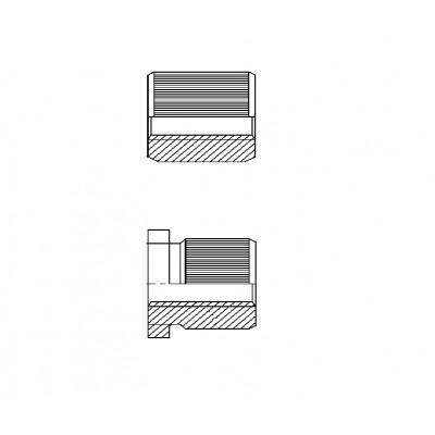 ОСТ 4Г 0.822.008 - Стальные и латунные втулки резьбовые БА
