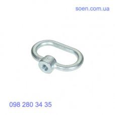 DIN 28129 - Стальные гайки с кольцом для крышек