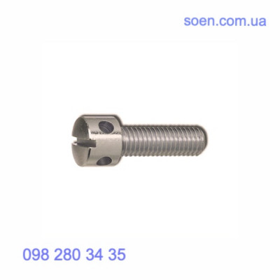 DIN 404 - Нержавеющие винты с цилиндрической головкой с радиальными отверстиями