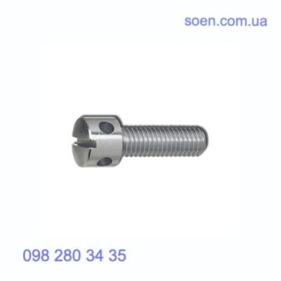 DIN 404 - Стальные винты с цилиндрической головкой с радиальными отверстиями