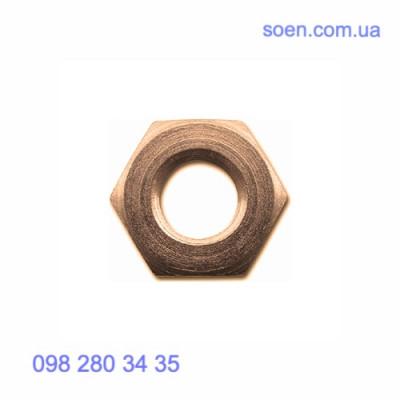 DIN 431 - Латунные гайки трубные шестигранные низкие