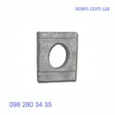 DIN 434 - Стальные шайбы косые квадратные