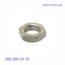 DIN 439 - Нержавеющие гайки шестигранные низкие