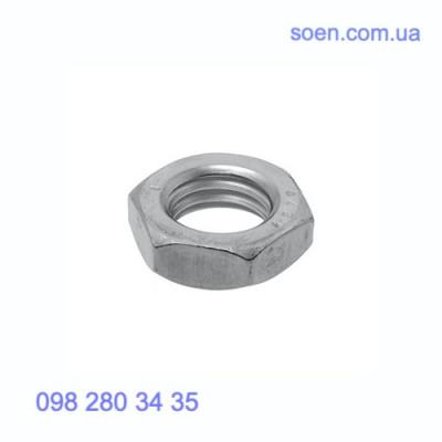 DIN 439 - Стальные гайки шестигранные низкие