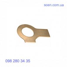 DIN 463 - Латунные шайбы стопорные плоские с 2 лапками