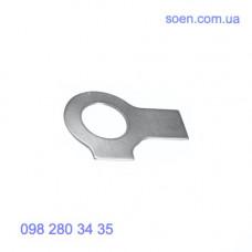 DIN 463 - Стальные шайбы стопорные с 2 лапками