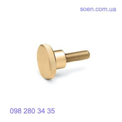 DIN 464 - Латунные винты с накатанной головкой