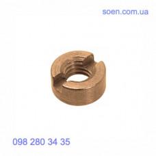 DIN 546 - Латунные гайки круглые шлицевые