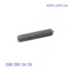DIN 553 - Стальные винты установочные стопорные с прямым шлицем и острым концом