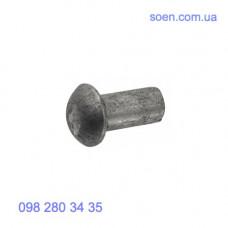 DIN 660 - Алюминиевые заклепки с полукруглой головкой