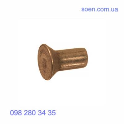 DIN 661 - Латунные заклепки с потайной головкой под молоток