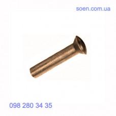 DIN 662 - Латунные заклепки с полупотайной головкой под молоток
