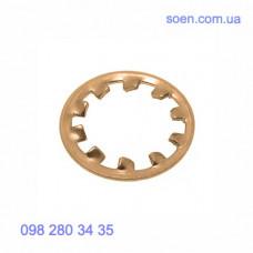 DIN 6797 A - Бронзовые шайбы стопорные с внешними зубцами