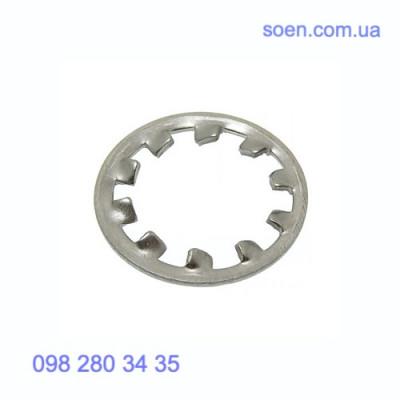 DIN 6797 A - Нержавеющие шайбы стопорные с внешними зубцами