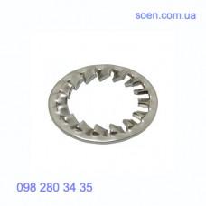DIN 6798 J - Нержавеющие шайбы стопорные с внутренними зубцами