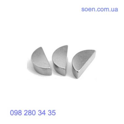 DIN 6888 Стальные шпонки сегментные полукруглые