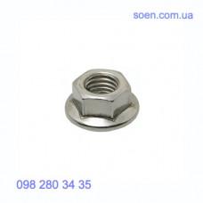 DIN 6923 - Нержавеющие гайки шестигранные с фланцем