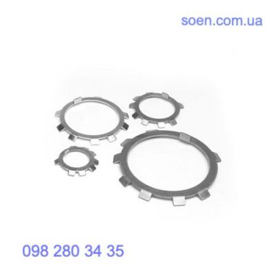 DIN 70952 - Стальные шайбы многолапчатые