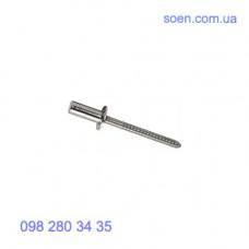 DIN 7337 - Алюминиевые заклепки вытяжные с плоской головкой