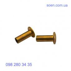 DIN 7338 - Латунные заклёпки для тормозных колодок