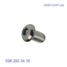 DIN 7380 - Нержавеющие винты с полукруглой головкой