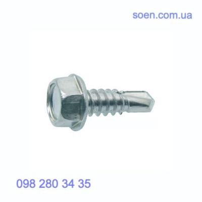 DIN 7504 - Стальные саморезы с шестигранной головкой