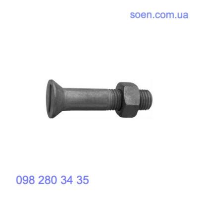 DIN 7969 - Стальные болты с потайной головкой