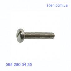DIN 85 - Нержавеющие винты с цилиндрической скругленной головкой