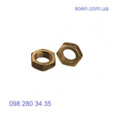 DIN 936 - Латунные гайки низкие шестигранные