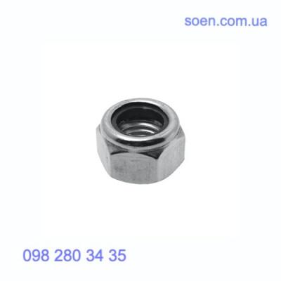 DIN 985 - Стальные гайки шестигранные самоконтрящаися с нейлоновым вкладышем
