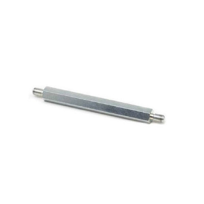 4212 - Стойка М2,5 сталь, цинк, нар/нар, SW=4, L2=L3=6mm