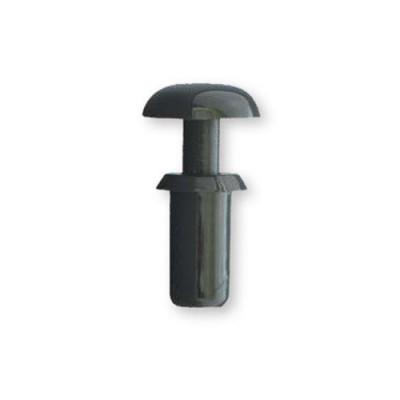 8G4012 - Пистон монтажный полукруг, шлиц, нейлон