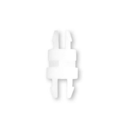 8G8014 - Фиксатор платы с защелкой в плату, под панель 1,6 мм