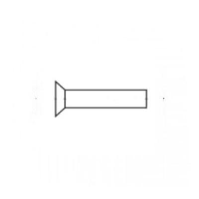 ГОСТ 10300-80 - Алюминиевые заклепки с потайной головкой