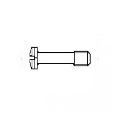 ГОСТ 10337-80 - Стальные винты с цилиндрической головкой и сферой невыпадающие