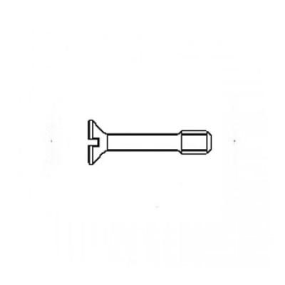 ГОСТ 10339-80 - Нержавеющие винты с потайной головкой невыпадающие