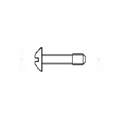 ГОСТ 10341-80 - Стальные винты с полукруглой головкой невыпадающие
