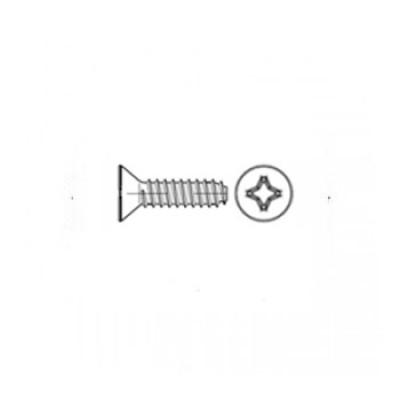 ГОСТ 10619-80 - Стальные винты самонарезающие с потайной головкой прямой шлиц