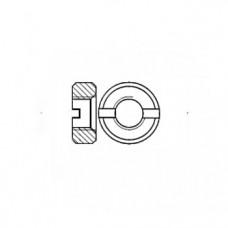ГОСТ 10657-80 - Латунные гайки круглые со шлицом на торце