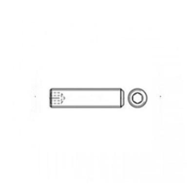 ГОСТ 11074-93 - Стальные винты установочные с плоским концом и шестигранным углублением под ключ