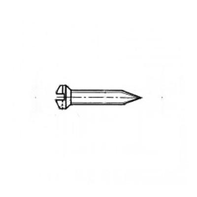 ГОСТ 11651-80 - Стальные винты самонарезающие с полупотайной головкой и заостренным концом