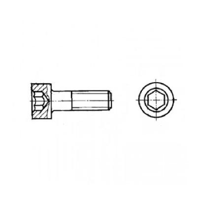 ГОСТ 11738-84 - Стальные винты с цилиндрической головкой и шестигранным углублением под ключ