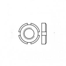 ГОСТ 11871-88 - Латунные гайки круглые шлицевые