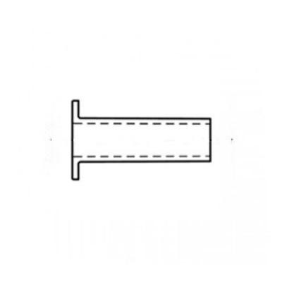 ГОСТ 12638-80 - Нержавеющие заклепки пустотелые со скругленной головкой