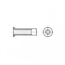 ГОСТ 12639-80 - Алюминиевые заклепки пустотелые с плоской головкой