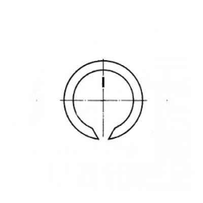 ГОСТ 13940-86 - Стальные кольца пружинные упорные плоские наружные концентрические