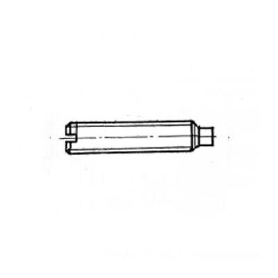ГОСТ 1478-93 - Нержавеющие винты установочные с цилиндрическим концом и прямым шлицем
