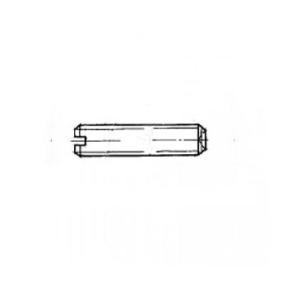 ГОСТ 1479-93 - Стальные винты установочные с засверленным концом и прямым шлицем