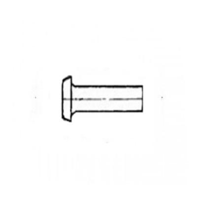 ГОСТ 14801-85 - Алюминиевые заклепки с плоской головкой
